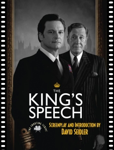 Jacket of THE KING'S SPEECH Shooting Script