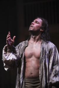 Cardenio production photo - Oliver Rix as Cardenio