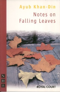 Notes on Falling Leaves - published alongside the Royal Court premiere starring Pam Ferris and Ralf Little