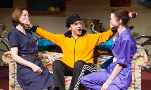 Gina McKee, Tamzin Outhwaite and Anna Maxwell Martin in the Hampstead Theatre production, 2013