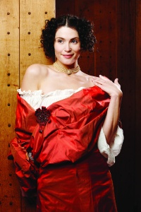 Gemma Arterton as Nell in a publicity shot for the forthcoming West End production