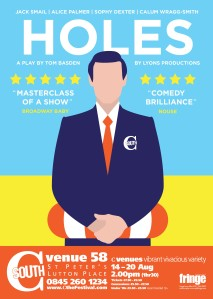 Holes poster with bleed